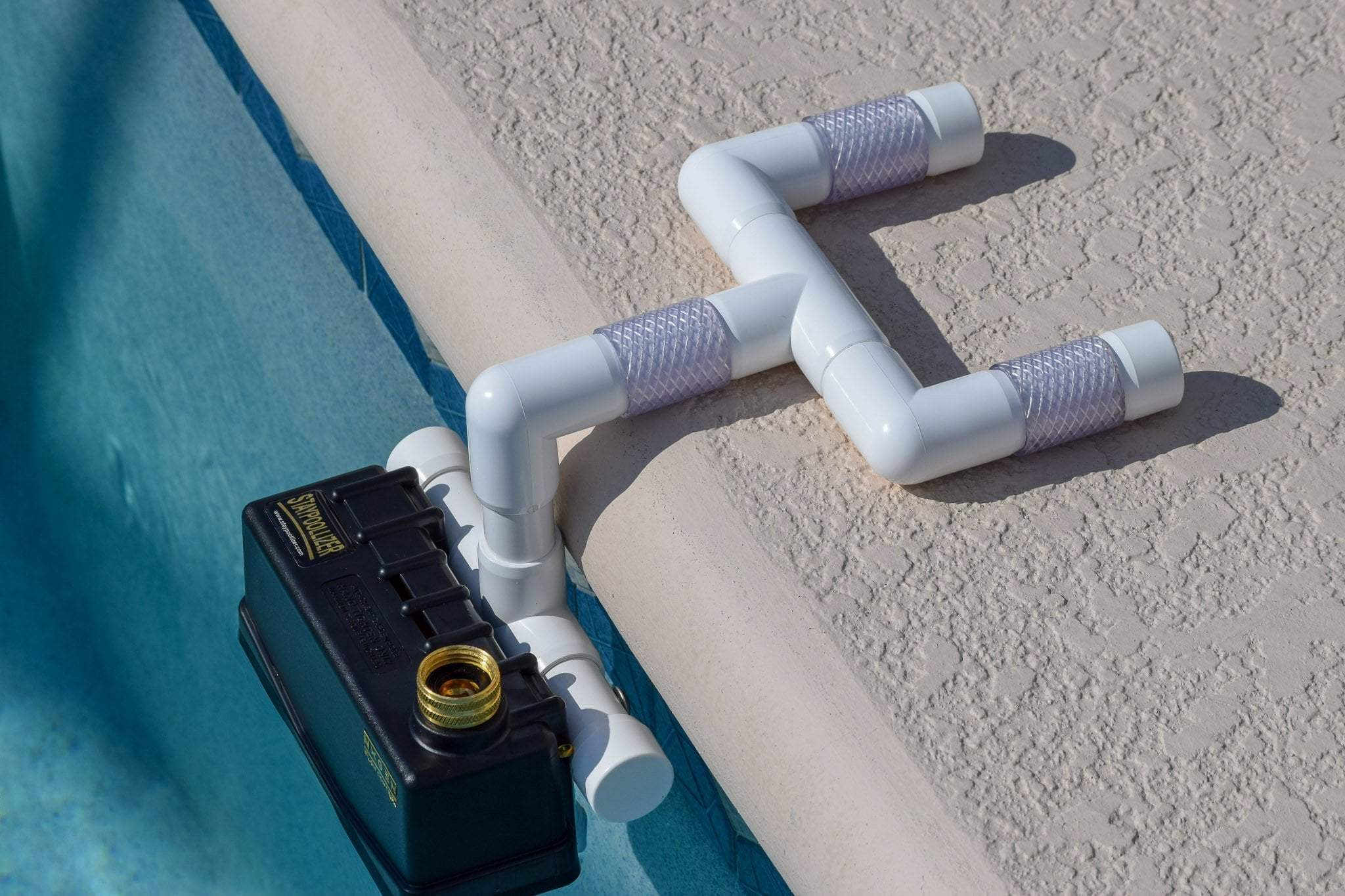 All Swimming Pools Universal Staypoollizer Universal Staypoollizer Premium with Nxgen Flow Control (White)