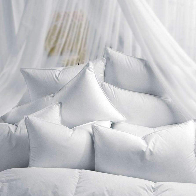 Down Pillows World's Finest Soft Down Pillow by Seventh Heaven Seventh Heaven