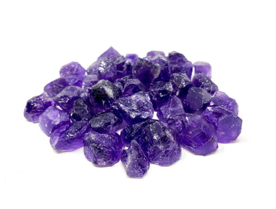 Group of Amethyst Rough