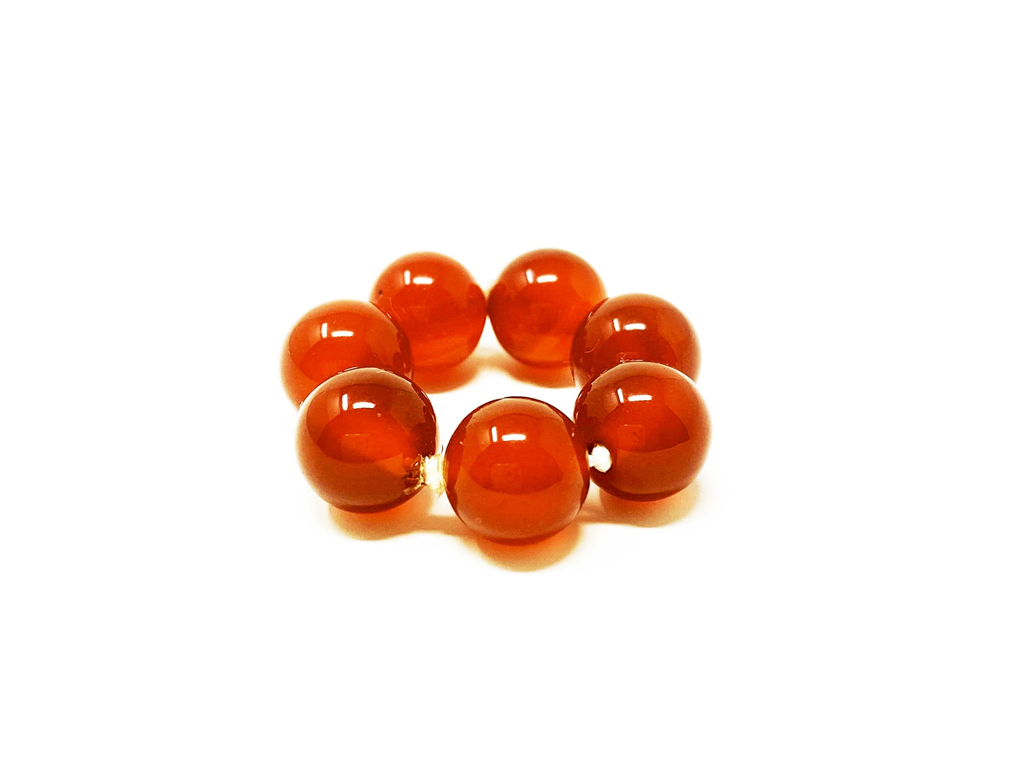Carnelian Energy Placement Rings