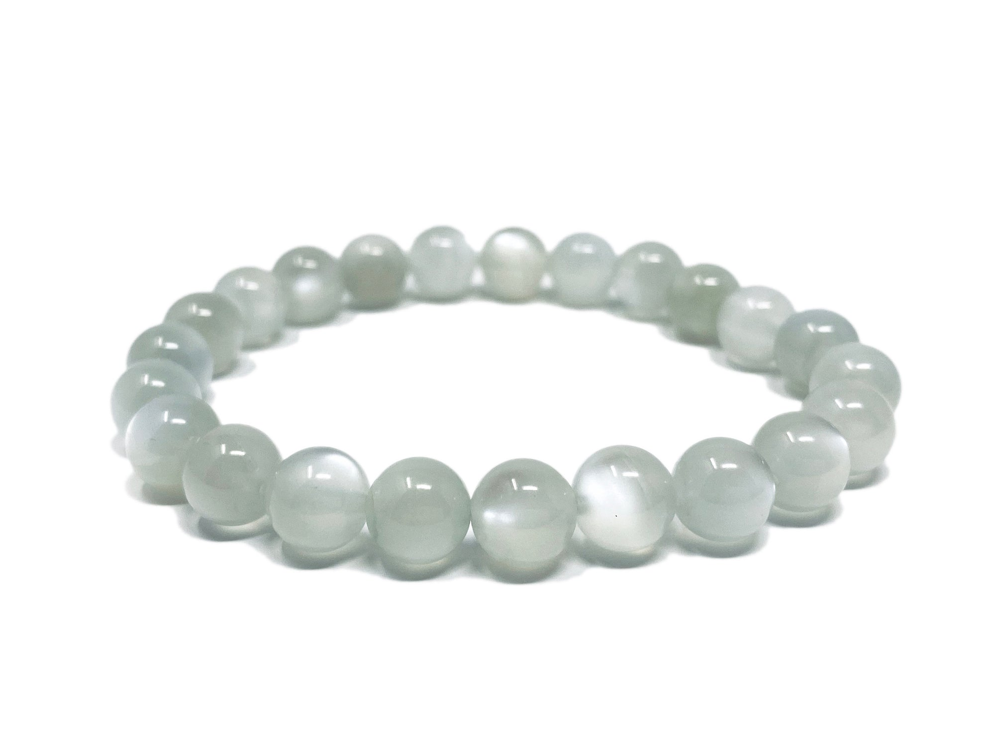 Moonstone White Flash Bracelet