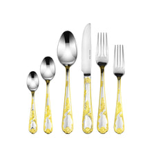 Italian Collection 75-зс Premium Stainless Steel Flatware Set for 12, Florence