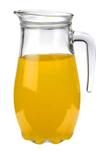 Luminarc 'Mirage' 54 Oz Beverage Pitcher, Juice, Iced Tea, Water Jug with Easy P
