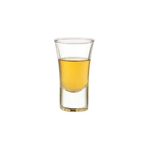 SET of 4-pc Luminarc 'Shooter Lord' 1 Oz Crystal-Clear Shot Glasses, Whiskey