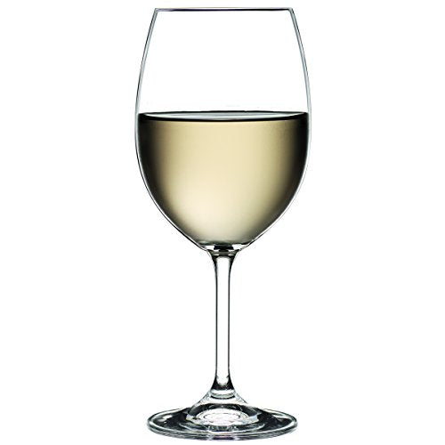 Crystalex Bohemian Crystal 15 Oz 'Vineyard'  White Wine Goblet Glasses, Set of 6