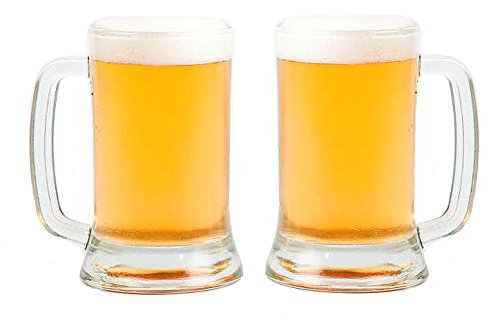 SET of 1 or 2-pc Luminarc 'New Bruselas' 16 Oz Beer Cocktails Tankards (2)