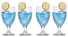SET of 4pc Luminarc Passion 16 Oz Crystal-Clear Highball Water, Soda, Glasses