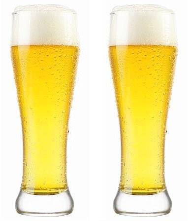 SET of 1 or 2pc Luminarc Berlin 18,5oz Crystal-Clear Beer Cocktails Glasses (2)
