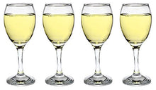 SET of 4-pc Luminarc 'All Purpose' 9 Oz Crystal-Clear Wine Glasses on a Stem
