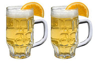 SET of 1 or 2-pc Luminarc 17 Oz Crystal-Clear Beer and Beer Cocktails Mugs (2)