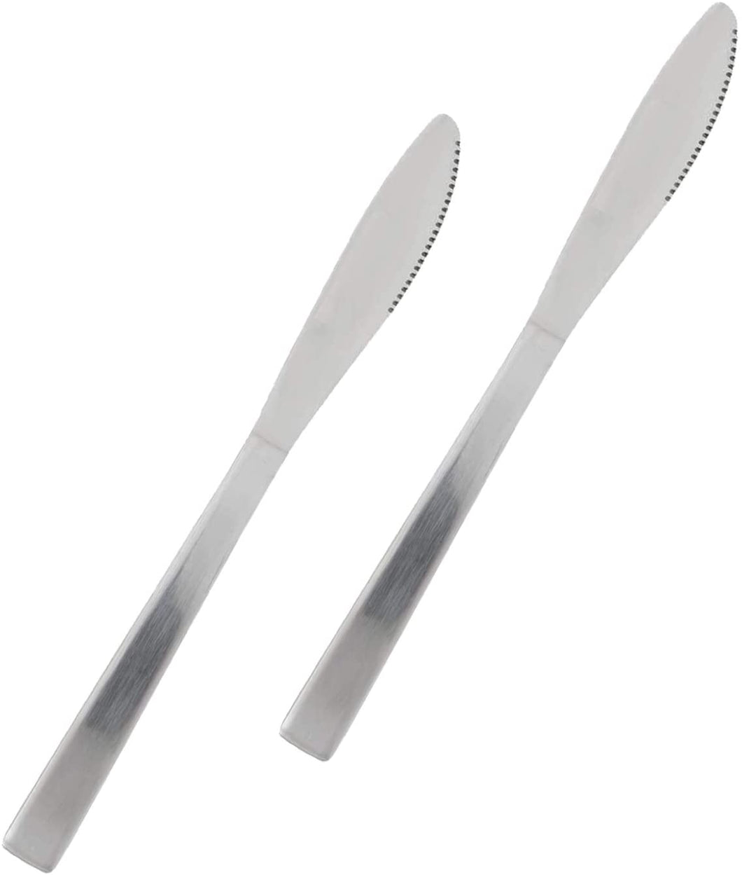 Stainless Steel Heavy Weight Polished Dinner Knife 'Esquire' (2 PC)