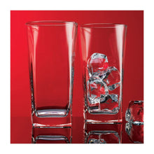 Clear Series Square Highball Glass (Set of 4)