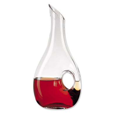 (D) 'Eternity' Wine Decanter 32 Oz, Premium Quality Lead Free Crystal