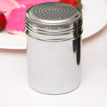 Salt and Pepper Shakers 10 Oz Aluminum, Modern Style Kitchen Utensil (2 PC)