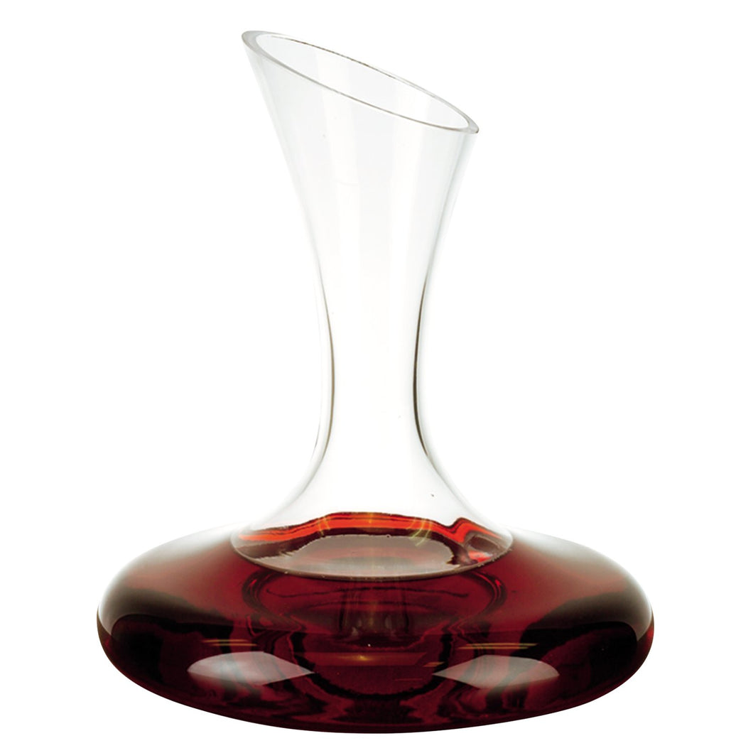 (D) 'Milano' Wine Decanter 32 Oz, Premium Quality Lead Free Crystal