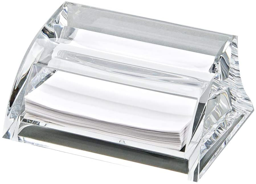 (D) Clearylic Memo Pad Holder Business Card Holder, Corporate Gift