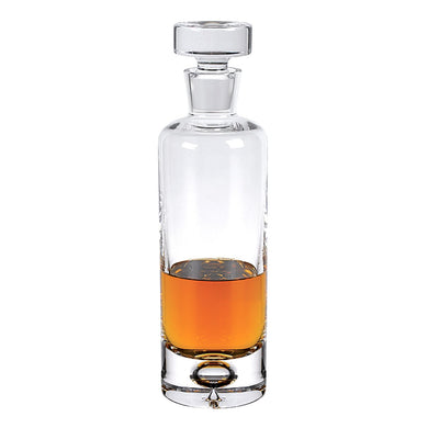 (D) 'Galaxy' Whisky/Scotch Decanter 28 Oz, Premium Quality Crystal Glass
