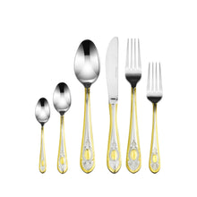 Italian Collection 75pc Premium Stainless Steel Flatware Set, For 12, Windsor