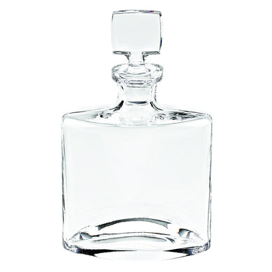 (D) 'Whitney' Whisky/Scotch Decanter 28 Oz, Premium Quality Crystal Glass