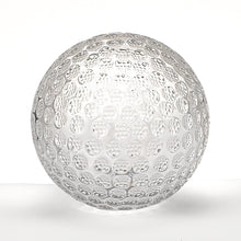"(D) Round Premium Quality Crystal Clear Golf Ball Paperweight 3.5"" D"