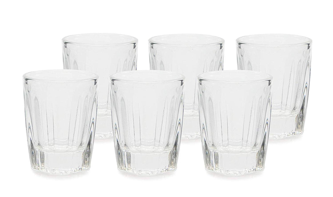 Graneniy 6-pc Russian Shot Vodka Premium Quality Glass Set