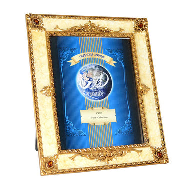 (D) Decorative Handmade Crystallized Photo Frame, Table Frame 11x13 Inches