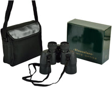 (D) Black Binoculars with Carry Case Outdoor Watching, Gift for Men