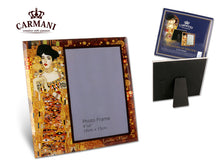 "Carmani Painters 7"" Decorative Glass Photo Frame,  Klimt Collection (Adela)"