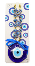 "Denizli Evil Eye ""Jewel"" Hanging Medallion, Feng Shui Home Decoration"