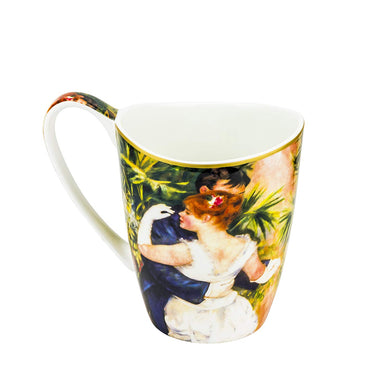 Carmani Painters Tea Cup or Mug, Auguste Renoir Collection (Dancing In The City)