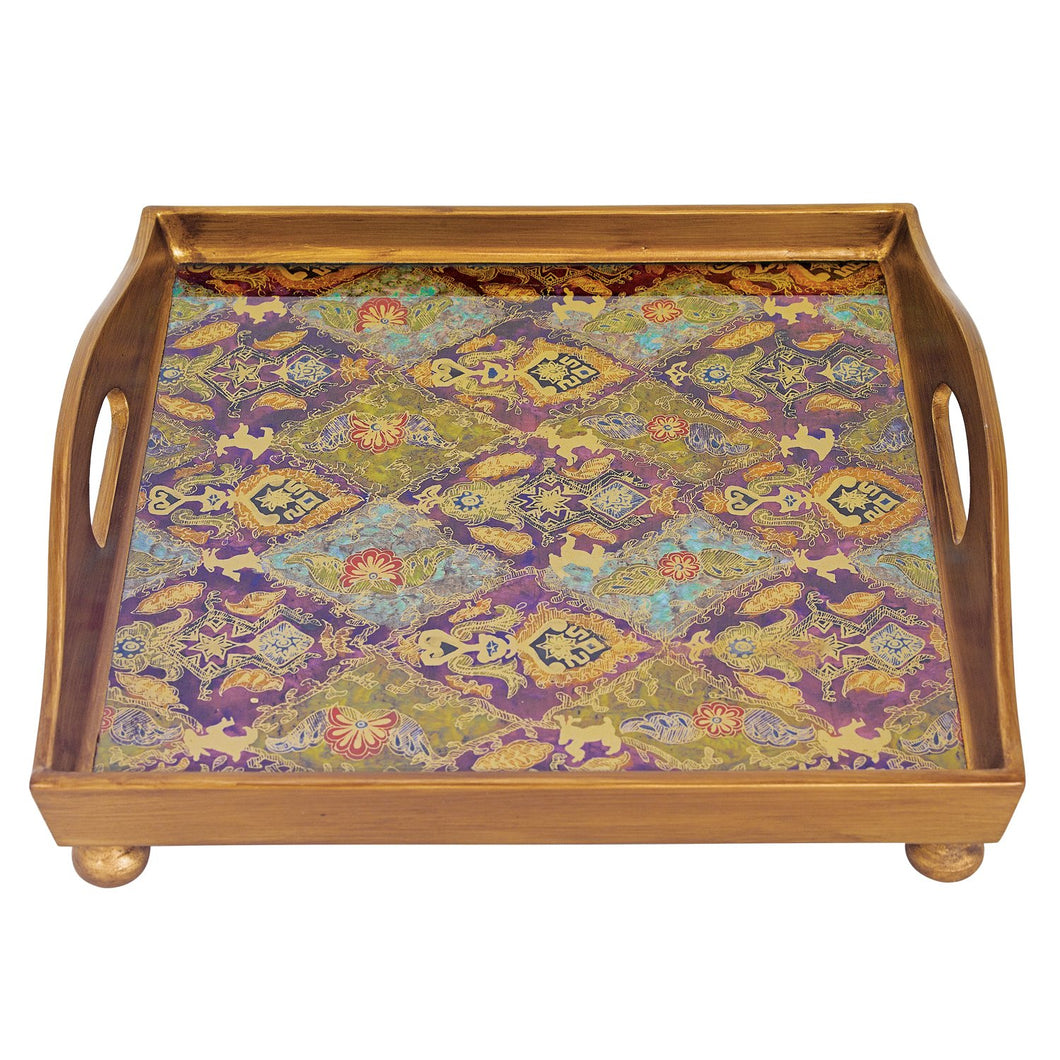 (D) Serving 'Cabra' Square Tray 12