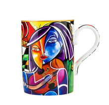Carmani Painters Coffee Cup, Pierre Dissard Porcelain Collection (Virtuoso)