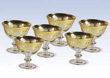 Interglass Italy Luxury Vintage Glass Compote Serving Bowl (6, Clear)