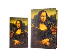 "Carmani Painters ""Mona Lisa"" Jewelry Storage Box Book-Style, Da Vinci Collection"