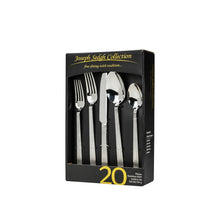 Italian Collection 'Tahoe' 20-Pc Premium Silverware Flatware Serving Set, For 4
