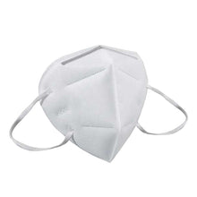 Reusable KN95 Face Masks, Filtered Protection Facial Mask White - 2 PC