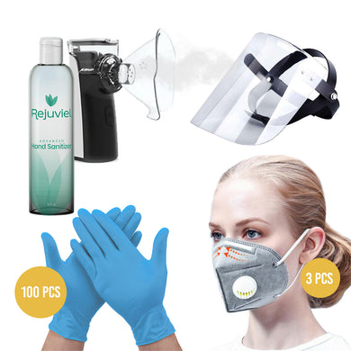 Anti Bacterial Safety & Virus Personal Protection Kit #3
