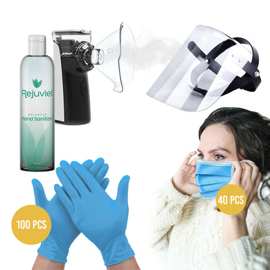 Anti Bacterial Safety & Virus Personal Protection Kit #4
