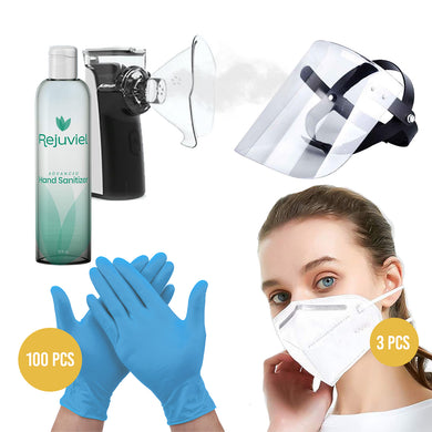 Anti Bacterial Safety & Virus Personal Protection Kit #8