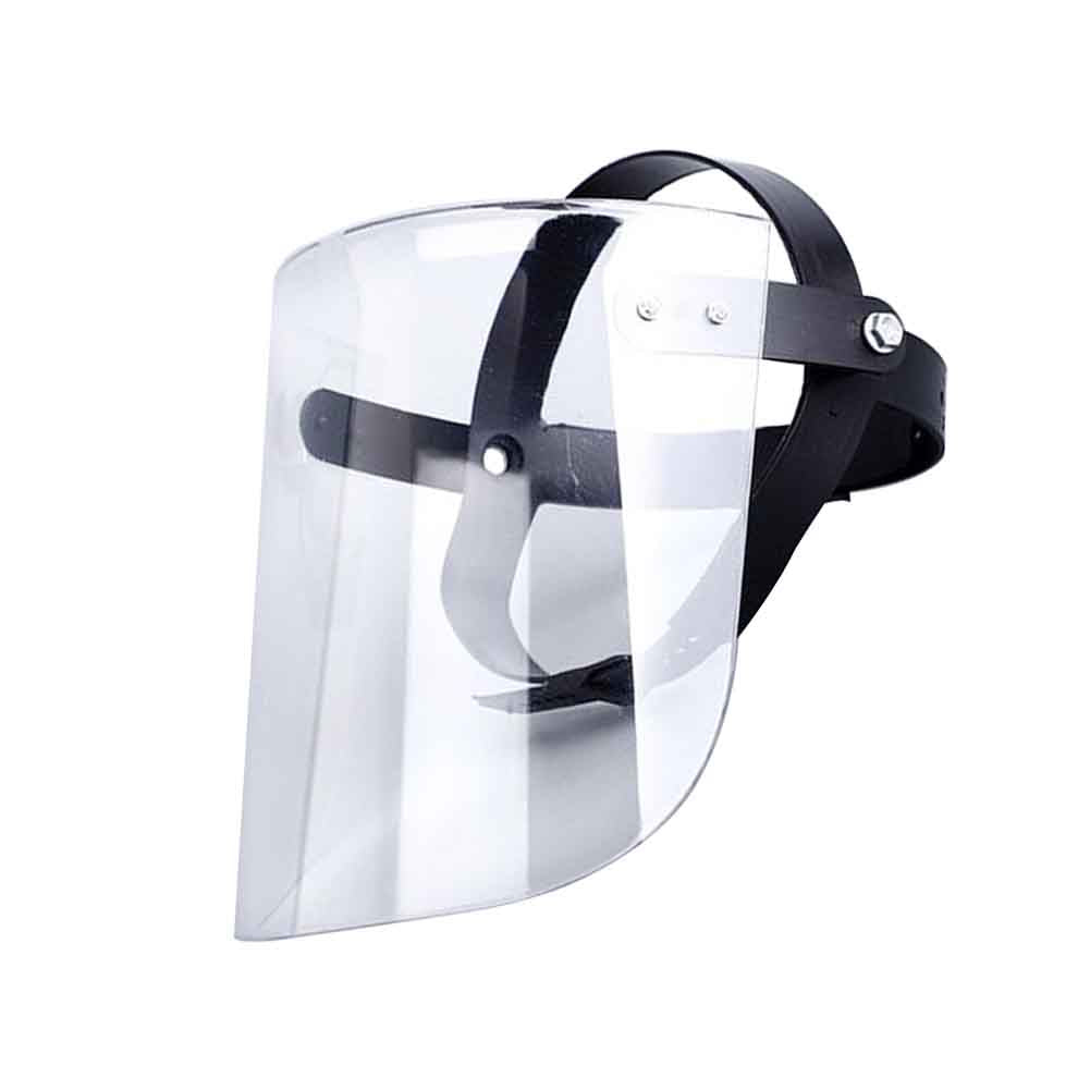 Full Face Mask Shield Clear Flip Up Visor Oil Fume Protection Safety Work Virus Bacterial Protective 1 PC
