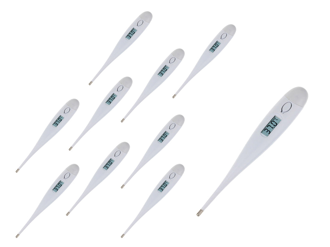 Fast Reading Digital Medical Virus Predicted Thermometer, LCD Backlight 10 PC