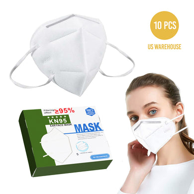 Reusable N95 Face Masks Anti Bacterial and Virus Medical Filter Protection Mask - 10 PC