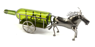 (D) Wine Bottle Holder, Donkey and Cart, Bar Counter Decoration