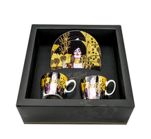 "Carmani Painters ""Judith"" Tea or Coffee Set, Gustav Klimt Porcelain Collection"