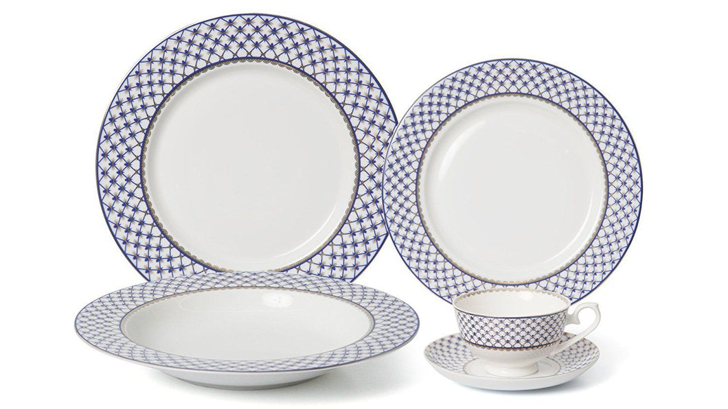 Royalty Porcelain 5-pc