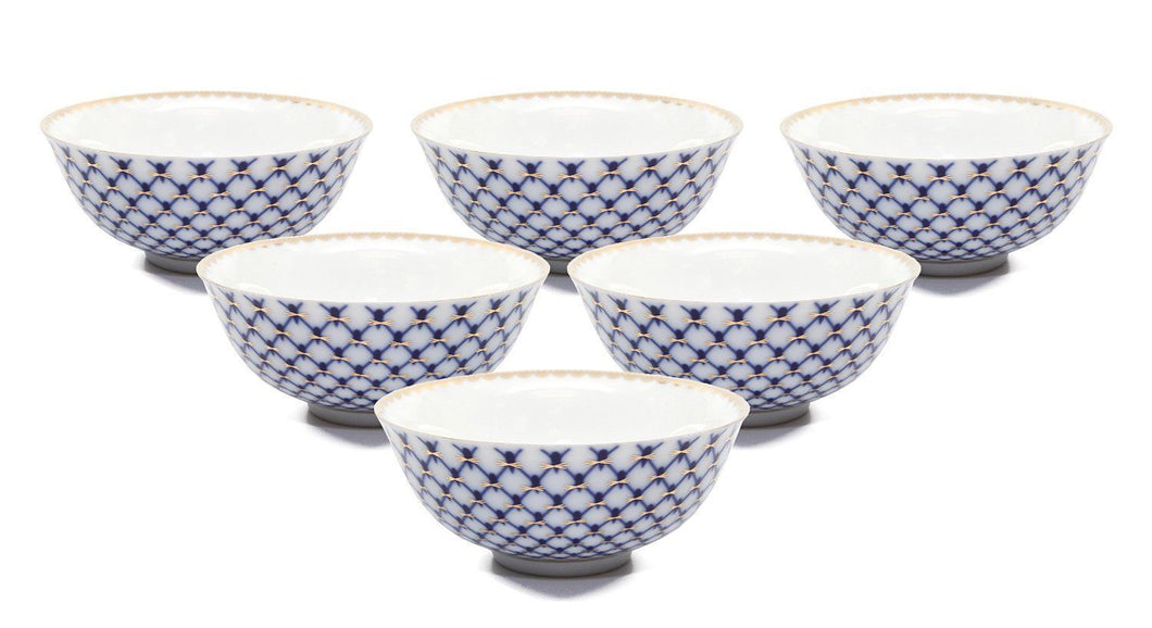 SET of 6 Lomonosov Porcelain Piala 5