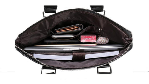 Business Briefcase with Long Shoulder straps,