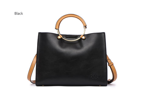 Designer Genuine Leather Shoulder Handbags