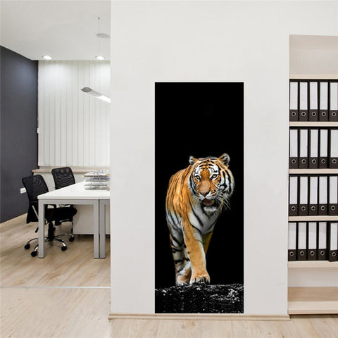 3 D Animal Art Vinyl Removal Wall Stickers
