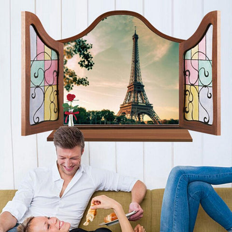 3d wall stickers Eiffel Tower